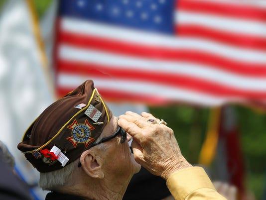 Veterans Saluting