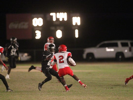 The Blountstown Tigers rolled to a 43-7 win over the