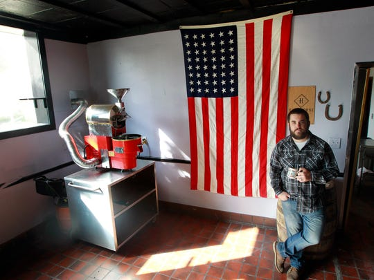 Steve Hawthorne owns Hawthorne Coffee Roasters and Cafe at  4177 S. Howell Ave, Milwaukee.