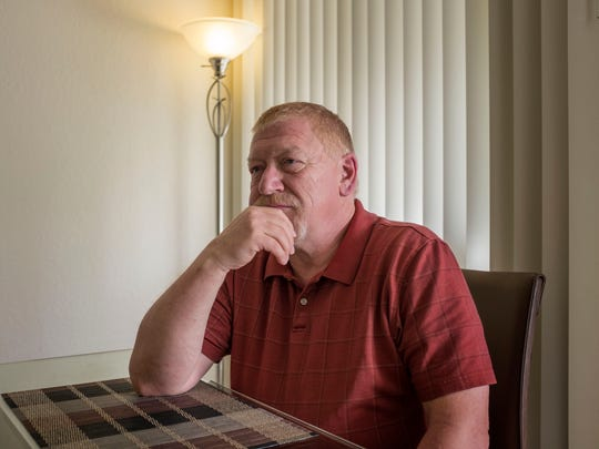 Roger Fey has diabetes and high blood pressure. He worries that health insurance would be unaffordable for him if Obamacare is repealed.