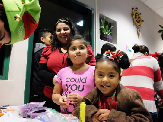 Kids check in at the Alisal Family Resource Center