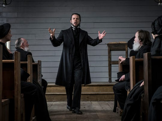 """Guy Pearce in a scene from """"Brimstone"""" directed by Martin Koolhoven and screening at the Palm Springs International Film Festival."""
