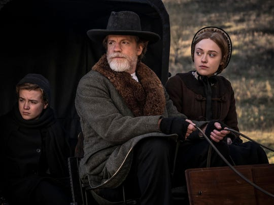 """A scene from """"Brimstone"""" directed by Martin Koolhoven and screening at the Palm Springs International Film Festival."""