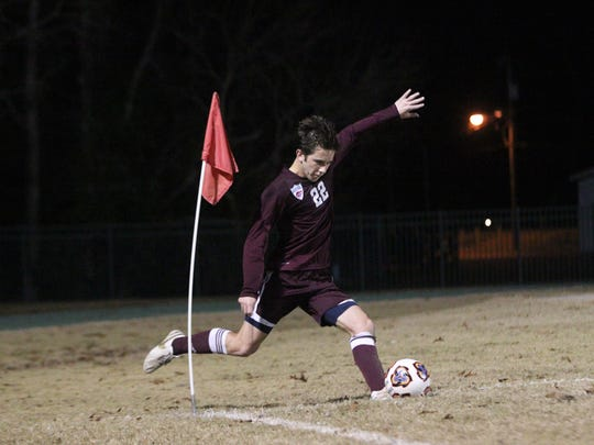 Chiles squared off with host Lincoln in a physical contest on Thursday, Jan. 12, 2017. The Trojans won 4-2. Jake Robert Meyer scored a first-half goal for the Timberwolves.