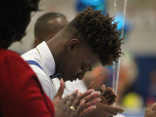 Rickards defensive back Tavyn Jackson signed Division-I to play in the SEC at South Carolina.