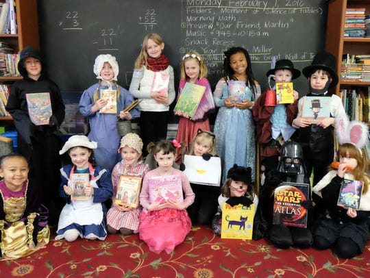 Richmond Friends School students dress up in February