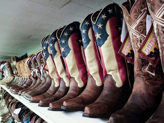 At Toms Western Store 53 Years Of Saddles Spurs And Lariats