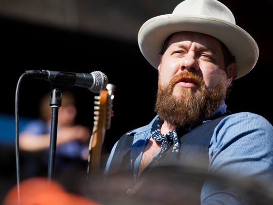 Nathaniel Rateliff performs with the Night Sweats during