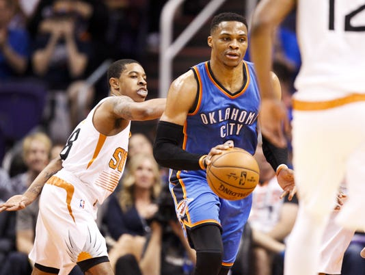 Oklahoma City Thunder at Phoenix Suns