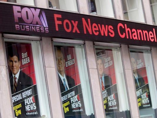AP TV FOX O'REILLY A USA NY