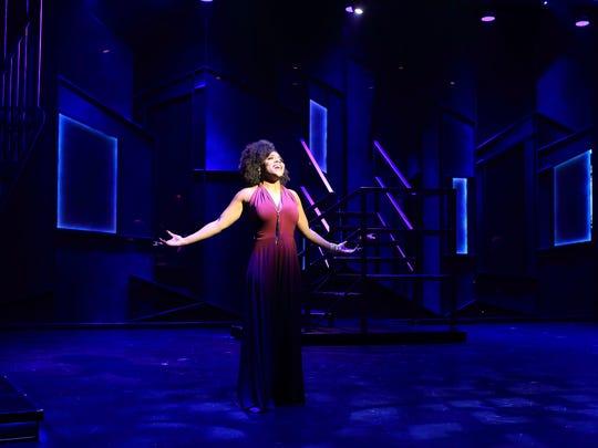 "Martina Sykes in ""Smokey Joe's Cafe"" at Flat Rock Playhouse."