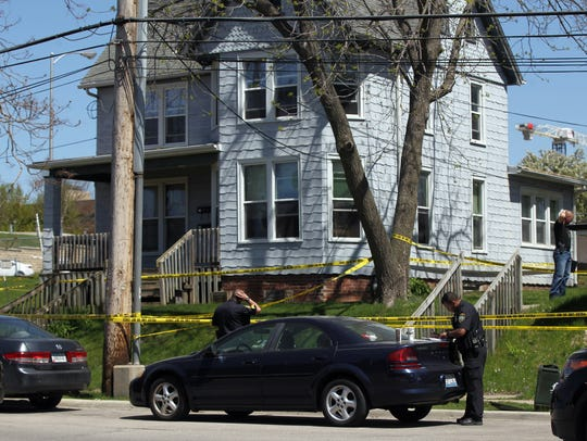 Iowa City Police investigate a death at Lederman Bail