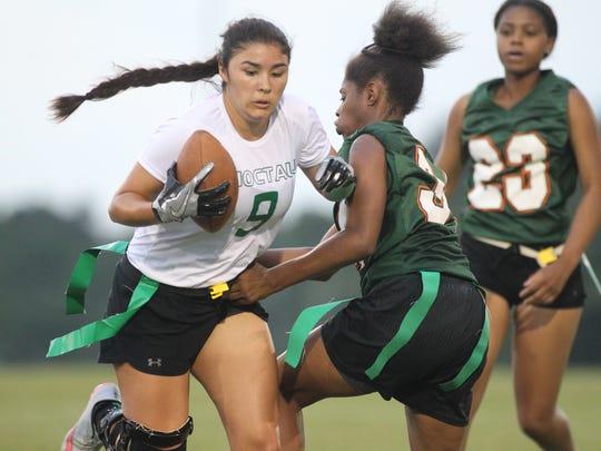 FAMU DRS vs. Choctaw, flag football regional semifinal,