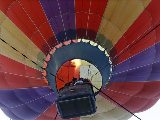 AP HOT AIR BALLOON FESTIVAL A FEA USA NJ