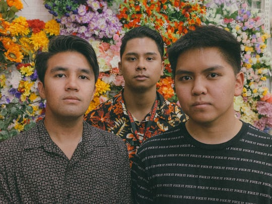 The band Local Deluxe creates original music and adds pop alternative to Guam's music scene. Band members Christian Delgado (left), Christian  Sumalpong (right) and Gino Datuin (center).