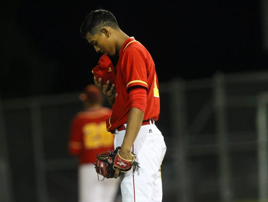 Jeremiah Estrada, who played for Palm Desert High School