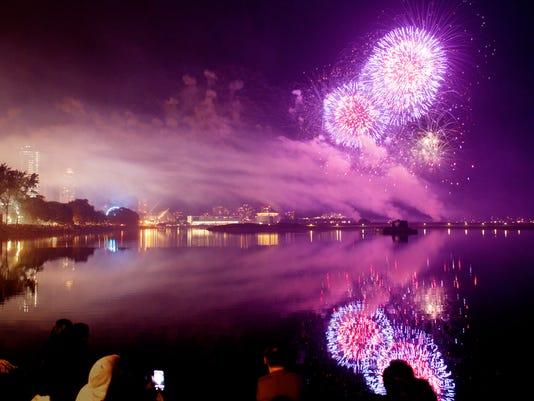 US Bank Fireworks