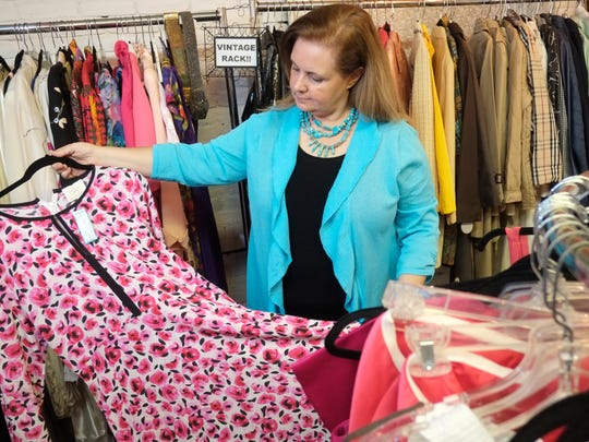Anne Bergin-Kilduff, owner of Style on Lafayette consignment