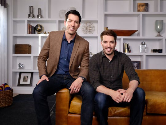 "On ""Property Brothers,"" twins Drew and Jonathan Scott help couples turn fix-uppers into dream homes. Drew, left, and Jonathan Scott."