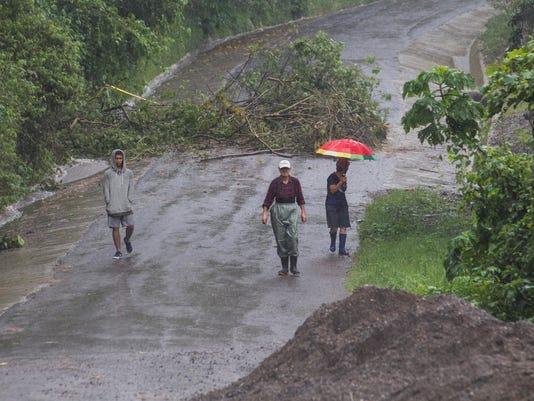 AP COSTA RICA TROPICAL WEATHER I CRI