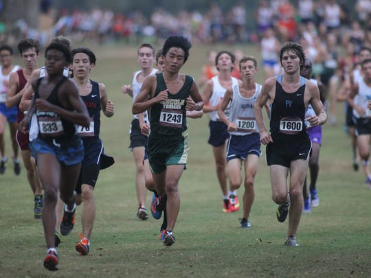 FSU Invitational pre-state cross country meet at Apalachee Regional Park, Oct. 7, 2017.