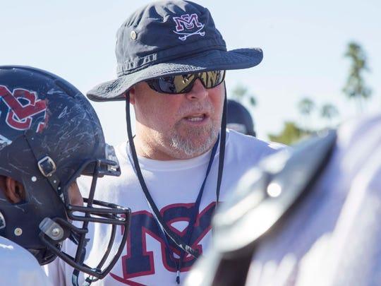 McClintock High School football team head coach  Corbin
