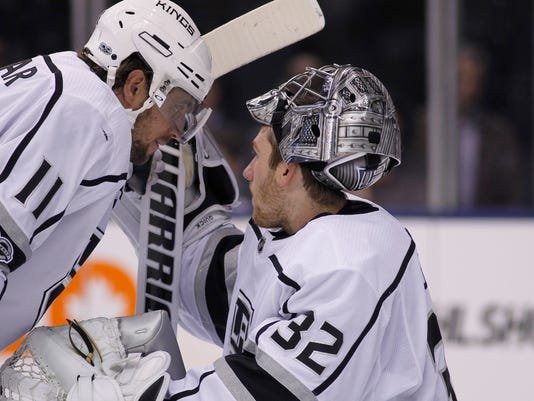 USP NHL: LOS ANGELES KINGS AT TORONTO MAPLE LEAFS S HKN TOR LAK CAN ON