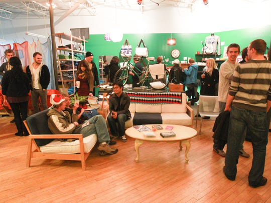 The People For Urban Progress space at the Murphy Art