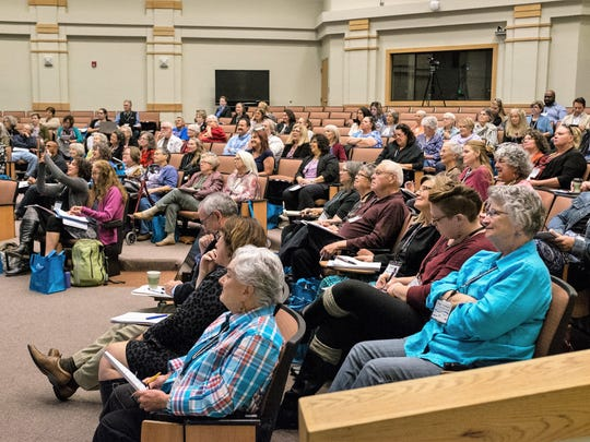 The inaugural Grant County Community Conversation brought over 100 individuals including representatives of 55 non-profits from the region and 11 funding agencies across the state.