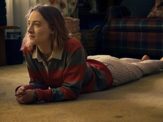 "Saoirse Ronan is terrific in ""Lady Bird,"" Greta Gerwig's"