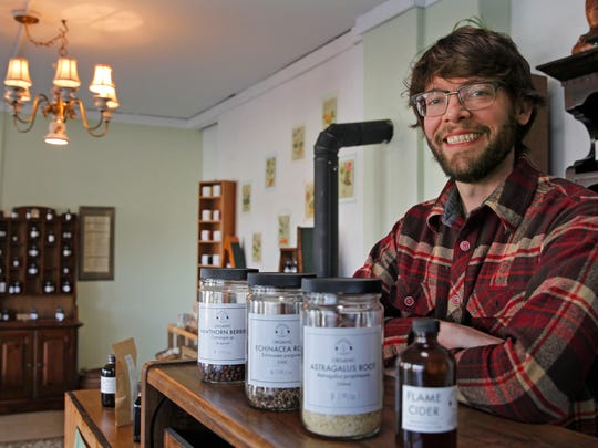 After doing business at farmers markets for the last few years, Kyle Denton recently opened Tippecanoe Herbs in Walker's Point.