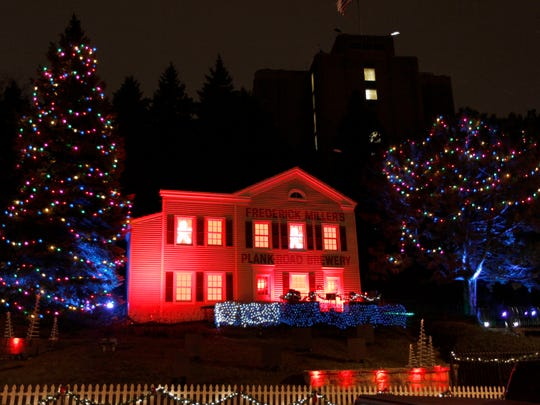 The Miller Valley Holiday Lites will shine through Saturday along West State Street.
