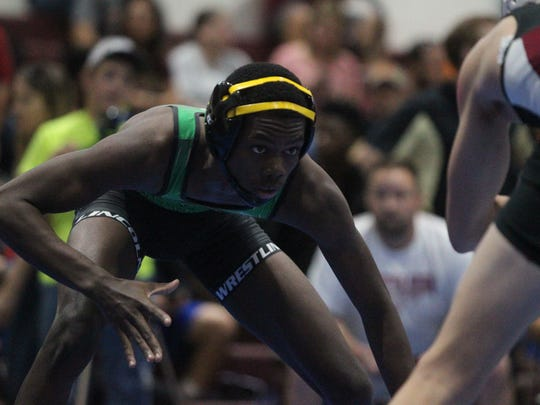 Cam Brown Seminole Classic wrestling tournament at Florida High, Saturday, Dec. 2, 2017.
