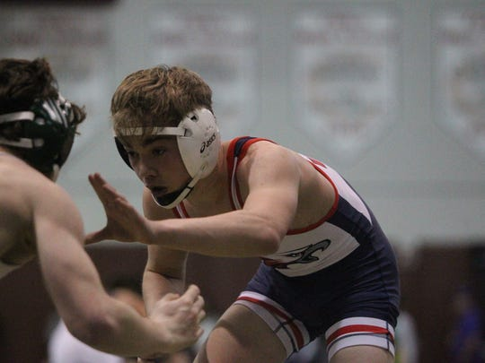 Wakulla's Matthew Owen wrestles during Saturday's Capital City Classic at Chiles.