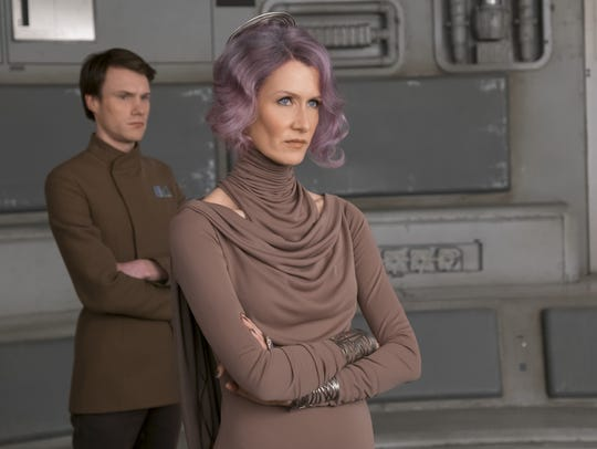 Laura Dern's Vice Admiral Amilyn Holdo adds a new kind of conflict to 'Star Wars: The Last Jedi.'