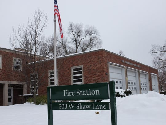 Fires Station Number 2 is located on the MSU campus. Photo: Sunday, Dec. 17, 2017.