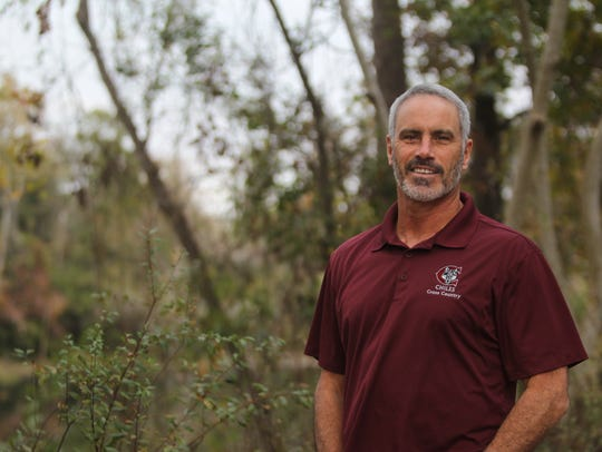 Second-year Chiles cross country coach Mike Phillips