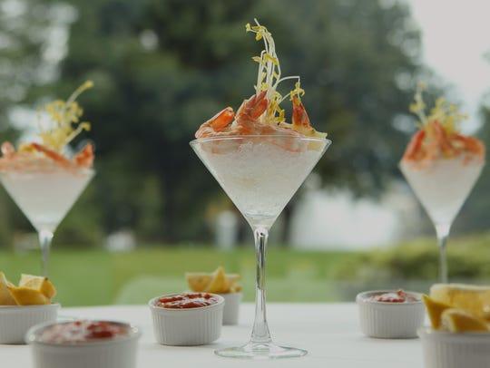 Shrimp cocktail at Ursino Steakhouse & Tavern in Union.