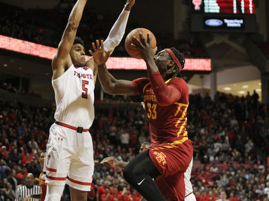 Feb 7, 2018; Lubbock, TX, USA; Iowa State Cyclones
