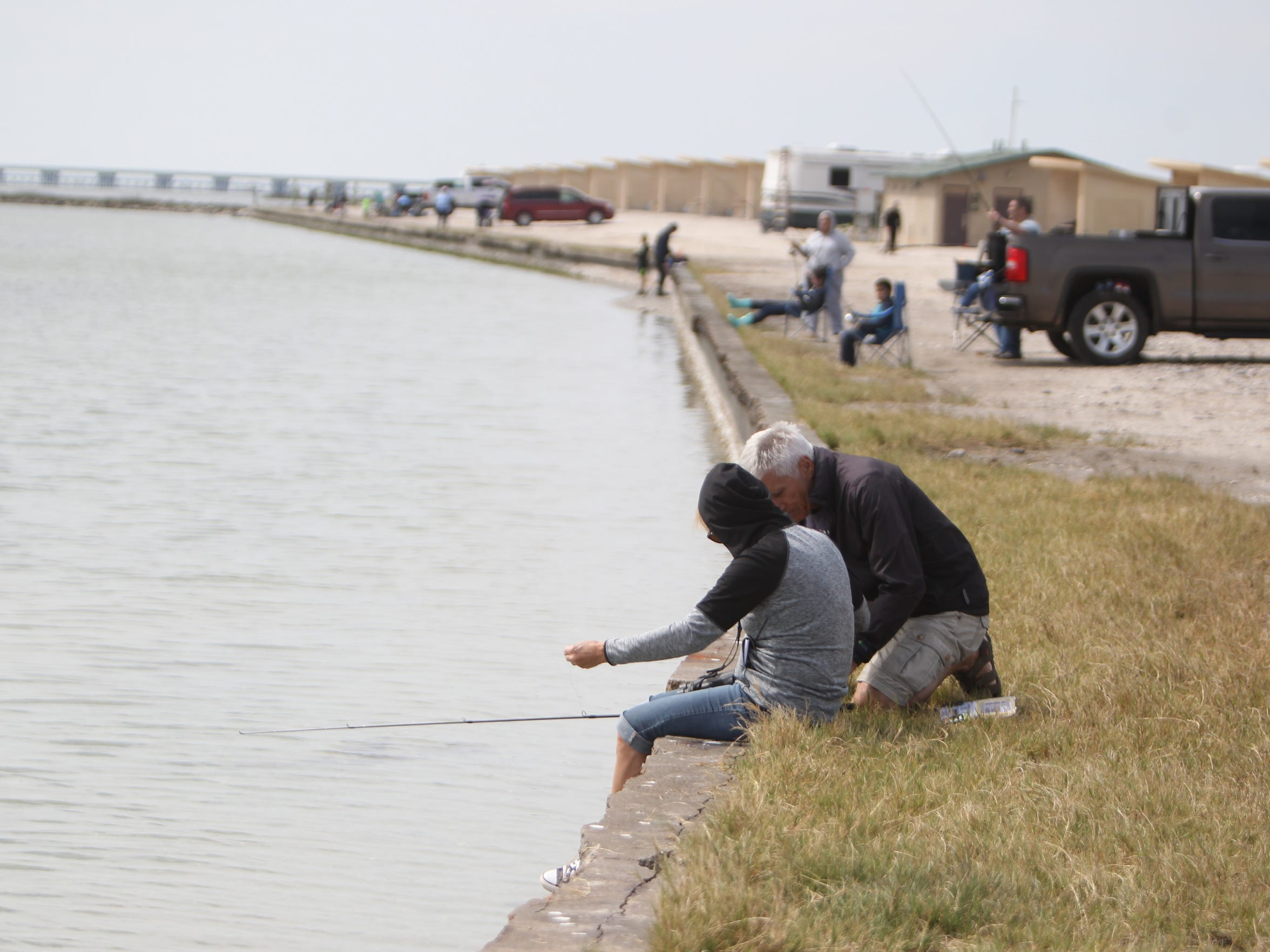 Goose Island State Park near Rockport has long stretches of shoreline for fishing.