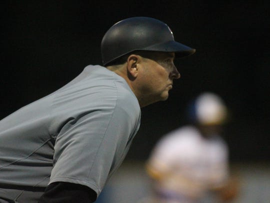 Franklin County baseball coach Kevin Cox is in his