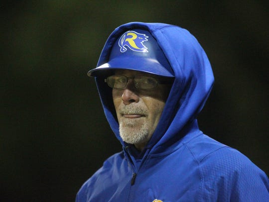 Rickards baseball coach Brian Kelley thinks his 2018