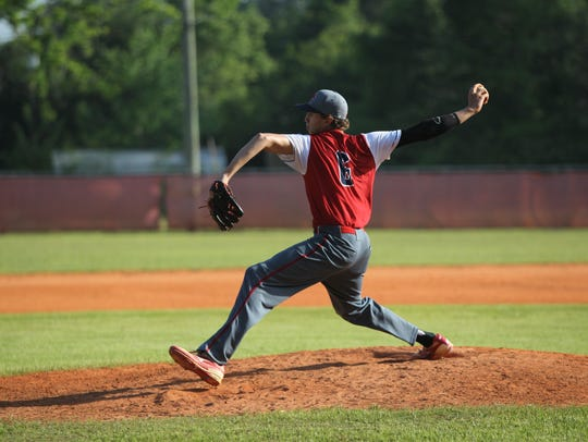 Wakulla Christian sophomore Seth Dudley, a 6-3 right-hander,