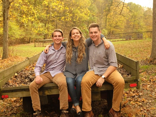 The Bee Corp's founders, Wyatt Wells, Ellie Symes, and Simon Kuntz.
