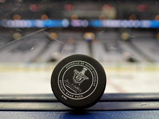 USP NHL: STANLEY CUP PLAYOFFS-WASHINGTON CAPITALS S HKN CBJ WSH USA OH