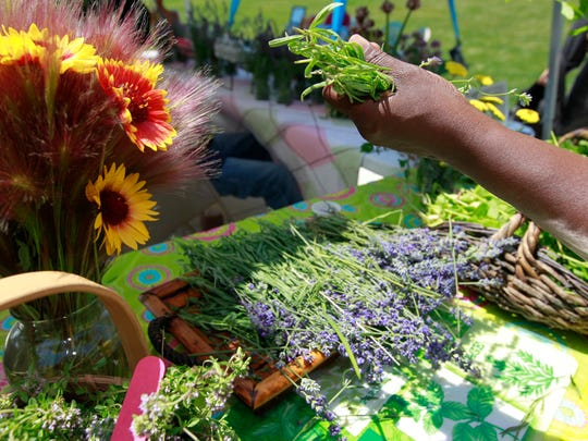 Be sure to visit one of the area's farmer's markets this summer.