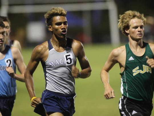 Maclay's Jay Brown qualified for state by winning the