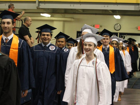 Briarcliff High School graduation at Pace University