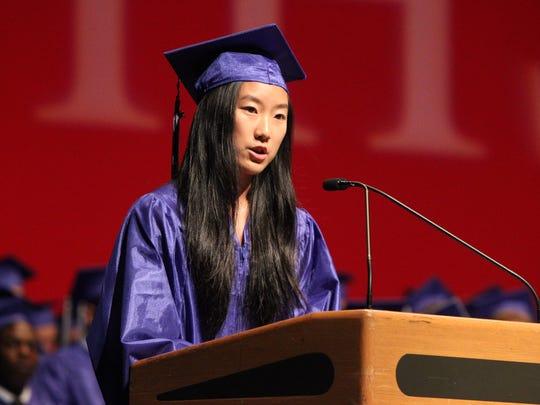 Byram Hills graduation at SUNY Purchase June 19, 2018.