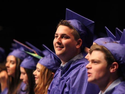 Byram Hills graduation 2018